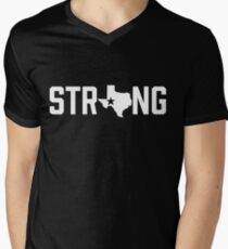 Texas State Strong Black & White T-Shirt