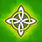 Colorful Celtic Luck Knot by Cleave