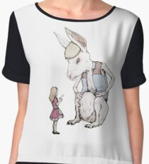 Jefferson Hare and the Child in Pink Chiffon Top