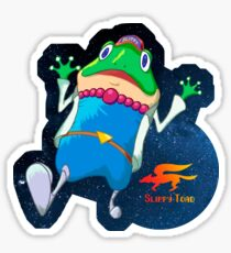 Star Fox 2 - Slippy Toad Sticker