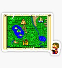 Alex Kidd in Miracle World Sticker