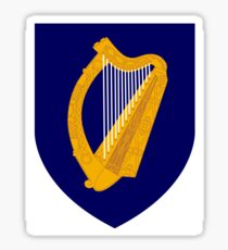 Irish Coat of Arms Sticker