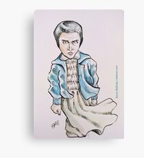 Eleven (stylized) Canvas Print