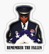 Remember The Fallen Sticker