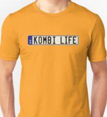 VW Kombi Rego Plate T-Shirt