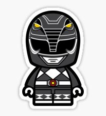 Black Power Chibi Ranger Sticker