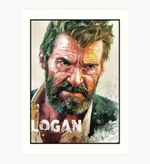 logan old man logan Art Print