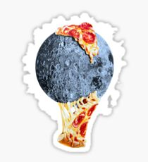 When the moon hits your eye... Sticker