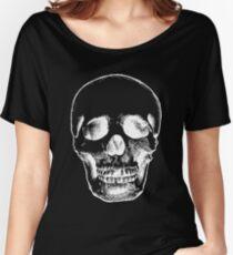 Cool skeleton skull Women's Relaxed Fit T-Shirt