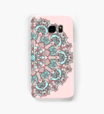 mandala#31 on pink background Samsung Galaxy Case/Skin