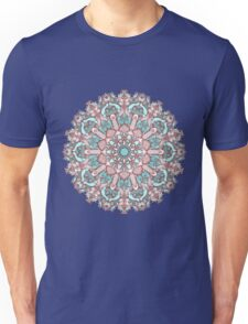 mandala#31 on pink background Unisex T-Shirt