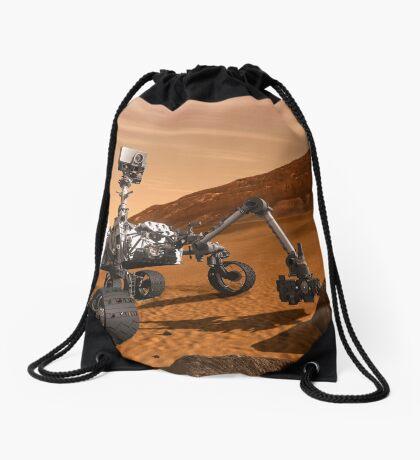 Künstlerkonzept des Mars Science Laboratory Curiosity Rover der NASA. Turnbeutel