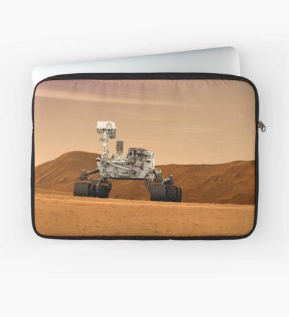 Künstlerkonzept des Mars Science Laboratory Curiosity Rover der NASA. Laptoptasche