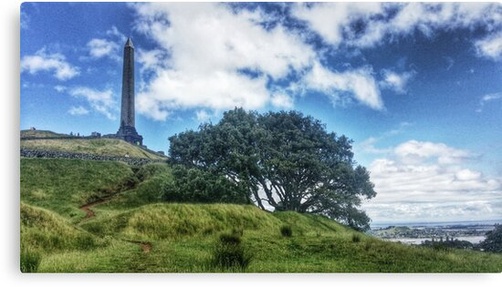 One Tree Hill - Auckland, New Zealand by Bradstclair