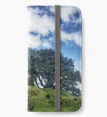One Tree Hill - Auckland, New Zealand iPhone Wallet/Case/Skin