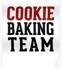 Cooking Baking Team Poster