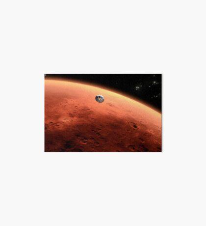Das Konzept des Mars NASA Mars Science Laboratory nähert sich dem Mars. Galeriedruck