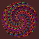 Multicolored Twist by Ruth Moratz