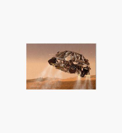 Die Rover und Abstiegsstufen für NASA Mars Science Laboratory Raumschiff. Galeriedruck