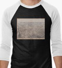 Dallas 1872 Men's Baseball ¾ T-Shirt