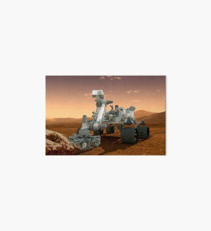 Künstler-Konzept der NASA Mars Science Laboratory Curiosity Rover. Galeriedruck