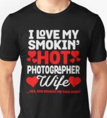 My Hot Photographer Wife Unisex T-Shirt
