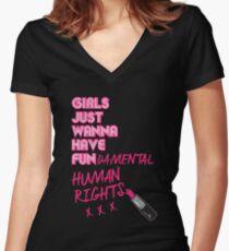 Grundlegend Shirt mit V-Ausschnitt