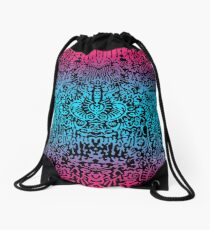 This is a colorfull dream Drawstring Bag