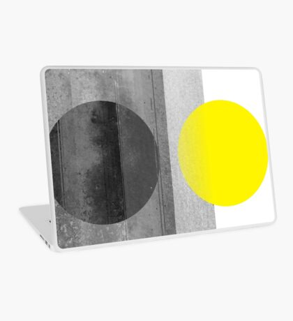 Yellow #abstract  Laptop Skin
