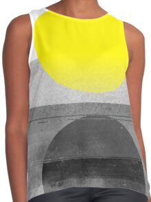 Yellow #abstract  Contrast Tank