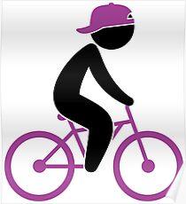 Biker Cyclist 1 (dd)++2013 Poster