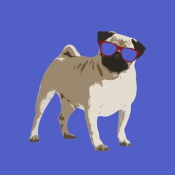 Pug Dog by jesselego