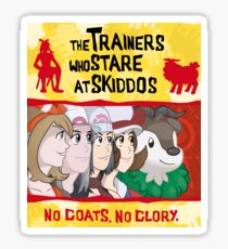 The Trainers Who Stare At Skiddos III Sticker
