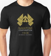 Nakatomi Gold Los Angeles California Unisex T-Shirt