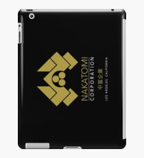 Nakatomi Gold Los Angeles California iPad Case/Skin