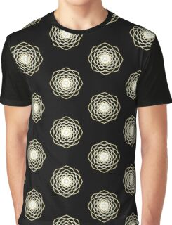 Many hearts - Gold Phi Spiral Graphic T-Shirt