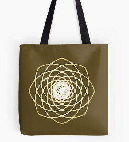 Many hearts - Gold Phi Spiral Tote Bag