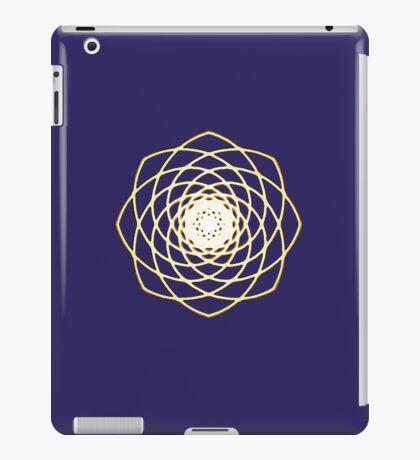 Many hearts - Gold Phi Spiral iPad Case/Skin