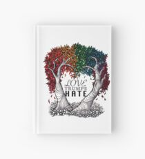 Love Trumps Hate Hardcover Journal