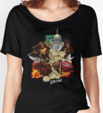 Migos Culture- C U L T U R E Women's Relaxed Fit T-Shirt