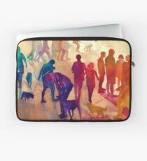 Dogs on the walk Laptop Sleeve