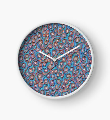 Out of the frost #DeepDream #Art Clock