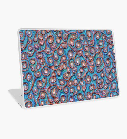 Out of the frost #DeepDream #Art Laptop Skin
