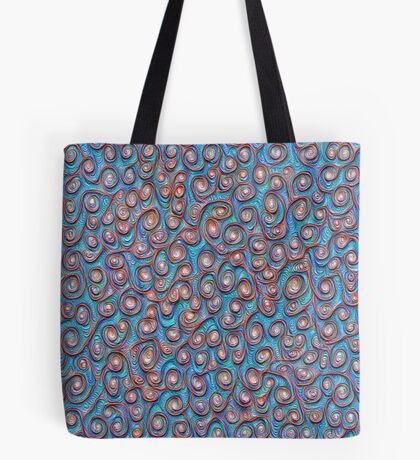 Out of the frost #DeepDream #Art Tote Bag