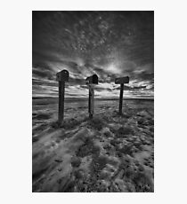 Rural Mail Photographic Print