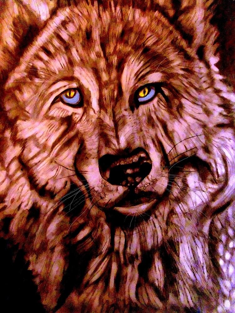 Wolf-The Blue Eyed Crooner by Herbert Renard