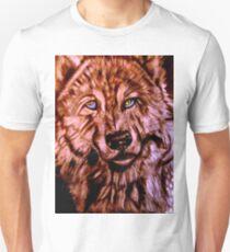 Wolf-The Blue Eyed Crooner Unisex T-Shirt