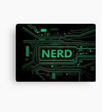 Nerd concept. Canvas Print