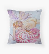 Angel of Truth Throw Pillow