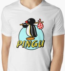 Penguin NUT Men's V-Neck T-Shirt
